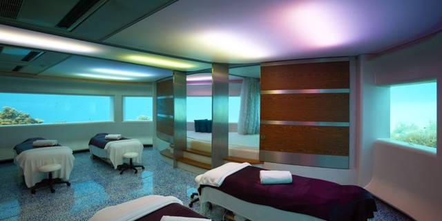 Lime Spa underwater treatment room