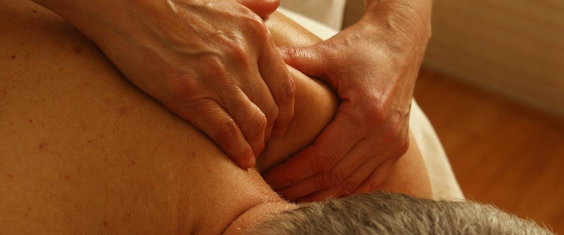 Men's Massage at Spa
