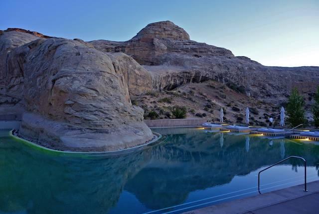 Amangiri Aman Spa Pool