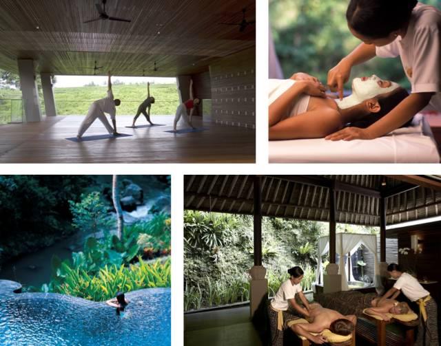 Treatments at the Spa at Maya Ubud