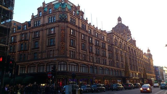 Harrods in London