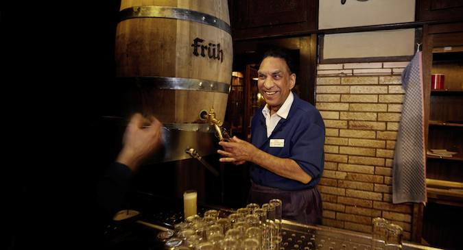 Fruh Brewery in Cologne