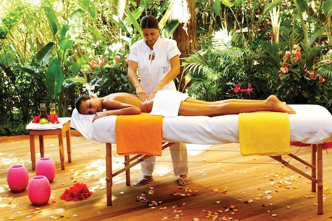 Spa treatments at Forte Village Resort