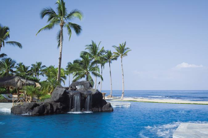 Hualalai Spa swimming pool
