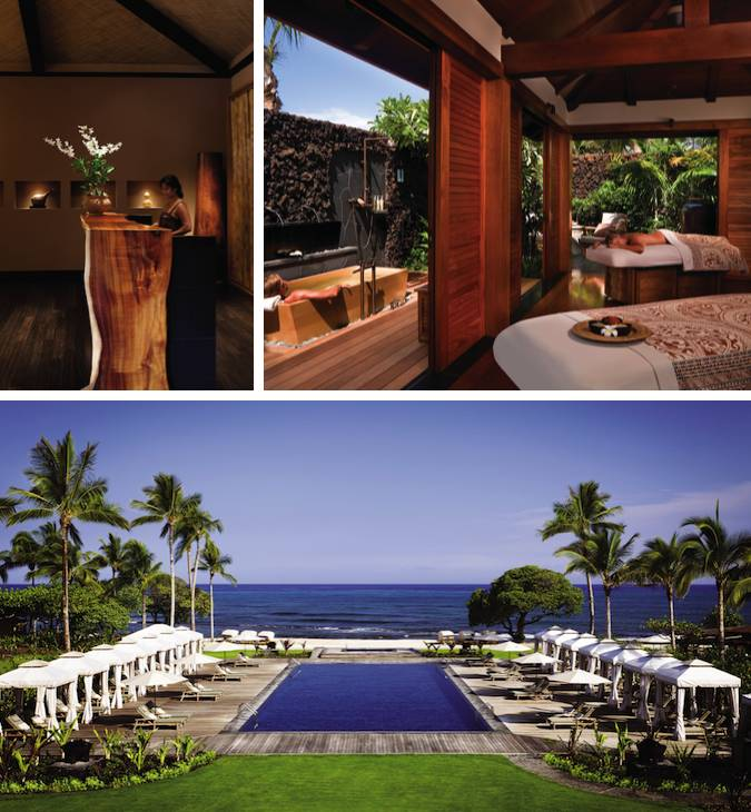 The Hualalai Spa facilities at Four Seasons