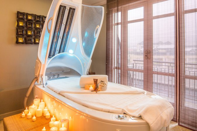 Hydrotherapy Chamber at Cape Grace Spa