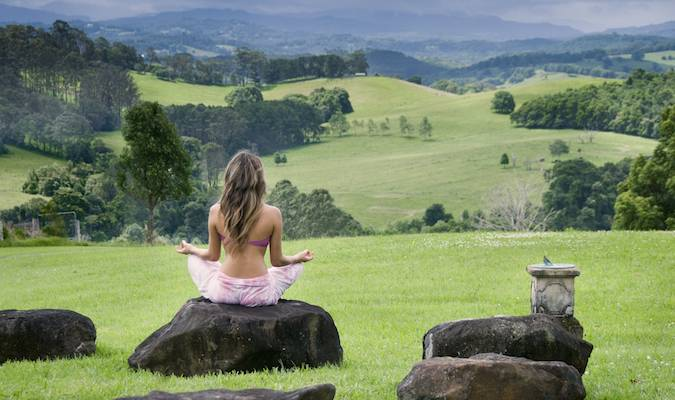 Yoga at Gaia Retreat