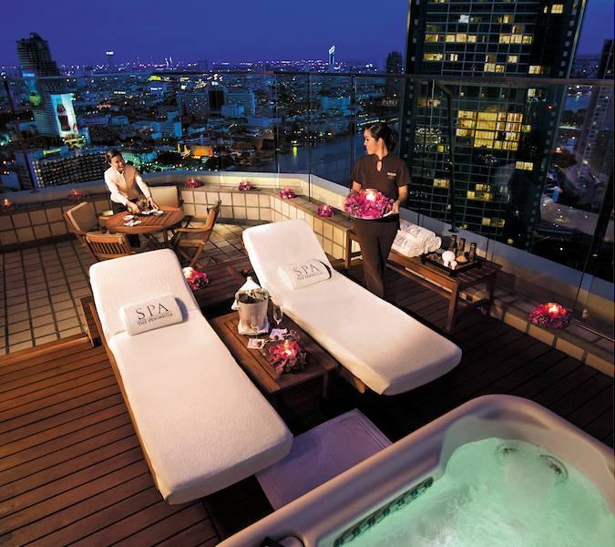 Spa Roof Terrace at the Peninsula Hotel Bangkok