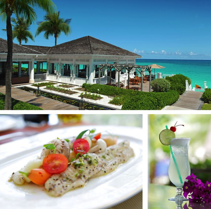 Dining at One&Only Ocean Club Resort Bahamas