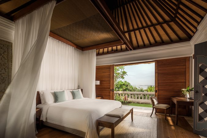 Bedroom at Four Seasons Jimbaran Bay Resort & Spa Bali