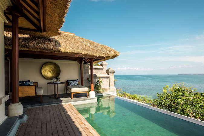 Private Villa Plunge Pool at Four Seasons Jimbaran Bay Resort & Spa Bali