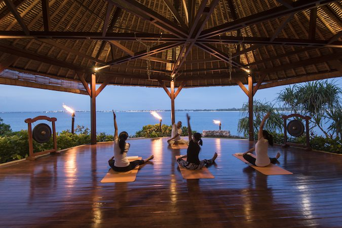 Yoga Class at Four Seasons Jimbaran Bay Resort & Spa Bali